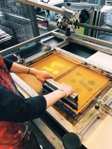 ScreenPrinting process